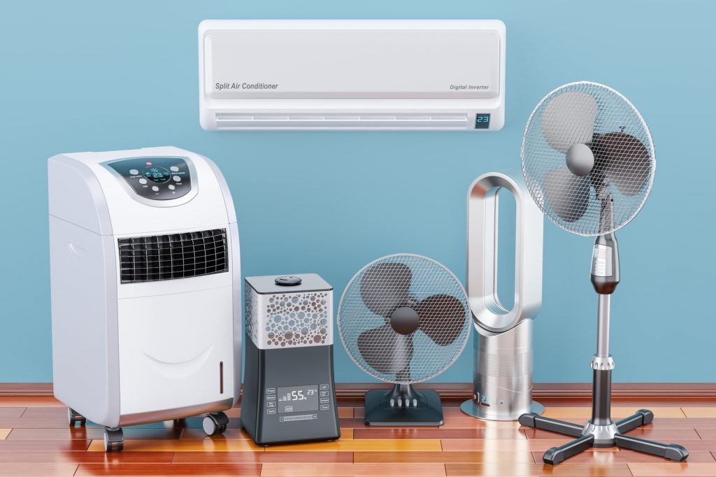 Cooling and climate electric devices